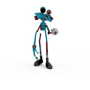 親親麻吉角色3d模型