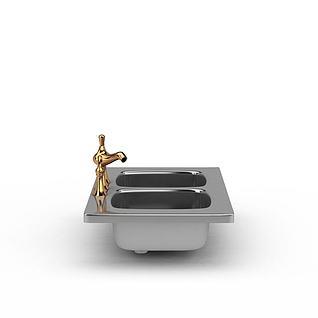 水槽3d模型