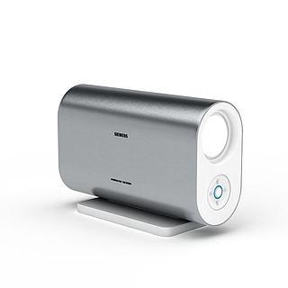 西门子投影仪3d模型