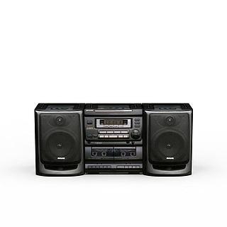 收音机3d模型
