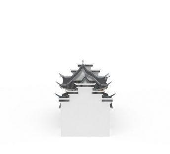 徽派建筑楼