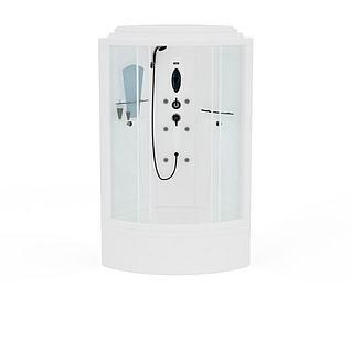 淋浴室3d模型