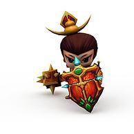骑士葫芦娃游戏角色3D模型3d模型