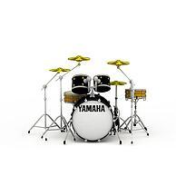 音乐设备乐器架子鼓3D模型3d模型