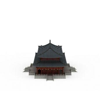 明清古建筑楼
