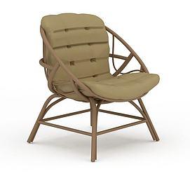 时尚休闲藤椅3d模型