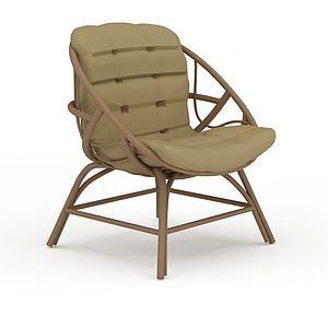 3d时?#34892;?#38386;藤椅模型
