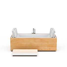 创意按摩浴缸模型