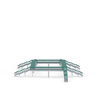 人行天桥3d模型