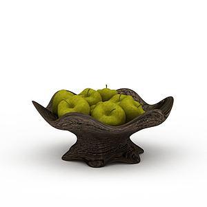 特色工藝品果盤模型