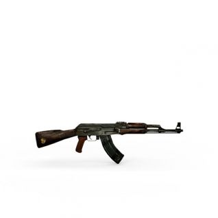AK47机关枪3d模型3d模型