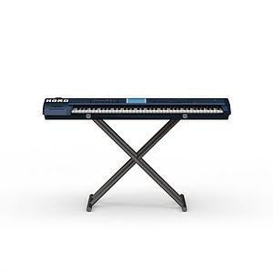 3d电子琴模型