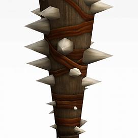 狼牙棒有游戏道具装备模型
