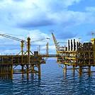海上石油平台模型