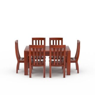 现代红木餐桌餐椅3d模型