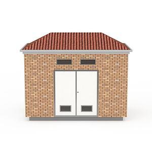 房屋建筑變電箱3d模型