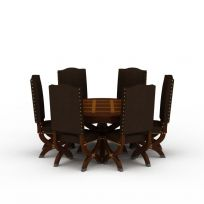 现代精品餐桌餐椅组合图片