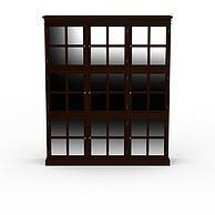 大型实木书柜3D模型3d模型