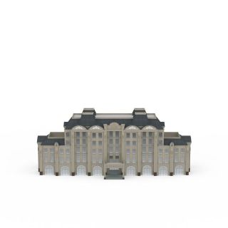 现代行政办公楼3d模型