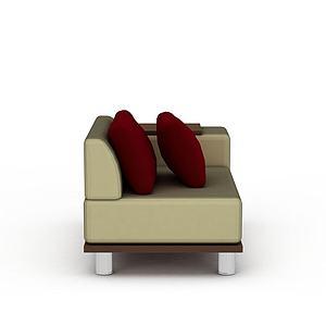 3d现代<font class='myIsRed'>转角沙发</font>模型