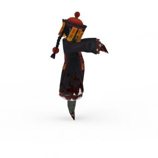 小僵尸3d模型