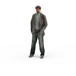 写实人物男人模型