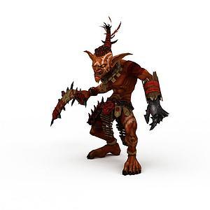 3d英雄無敵6游戲角色怪物模型