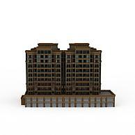 现代民宅3D模型3d模型