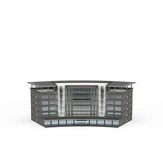 商务办公楼3d模型