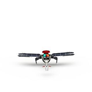 红色警戒游戏装备飞机3d模型3d模型