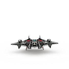 红色警戒游戏装备<font class='myIsRed'>飞机</font>3d模型