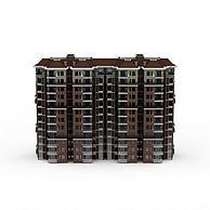 现代居民楼3D模型3d模型