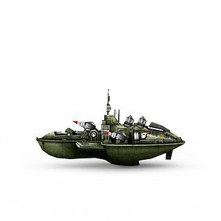 红色警戒苏联运输3d模型