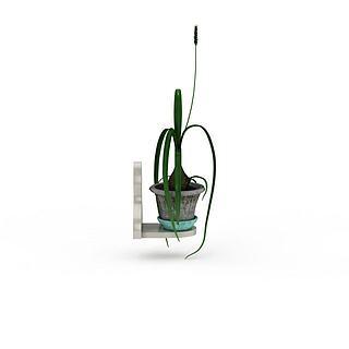 盆栽绿植花草3d模型