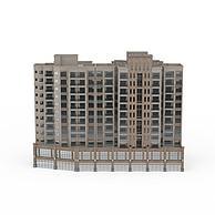 高层建筑大楼3D模型3d模型