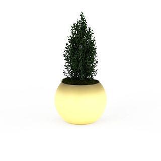 <font class='myIsRed'>绿植盆栽</font>3d模型