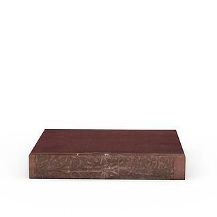单本书籍3d模型3d模型