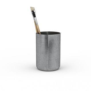 水彩画笔3d模型