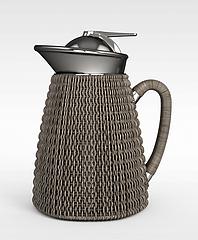 不锈刚保温热水壶模型3d模型