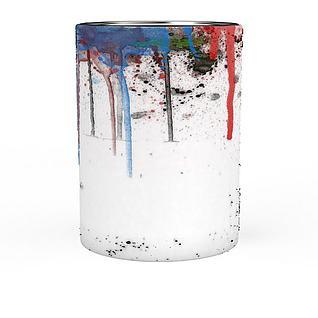 颜料桶3d模型3d模型