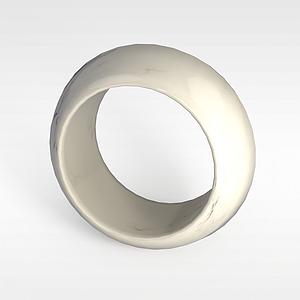 玉石手镯模型3d模型