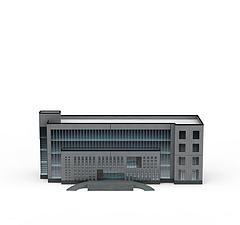 商务办公楼模型3d模型
