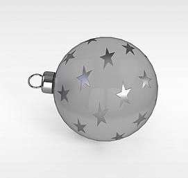 圣诞节装饰球3d模型