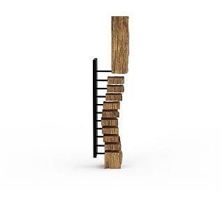 创意木雕摆件3d模型3d模型