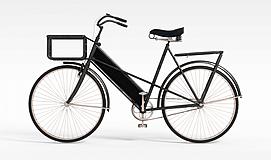 游戏场景道具<font class='myIsRed'>自行车</font>3d模型
