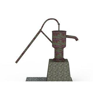 手压水泵压井3d模型3d模型