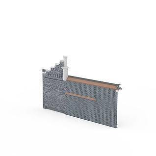 景墙3d模型