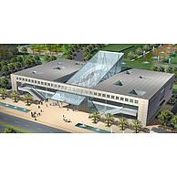 艺术风格商业办公楼3D模型3d模型