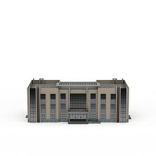 办公楼建筑3d模型