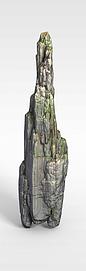 剑灵场景模型石头3d模型
